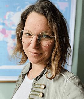Judith van der Stege